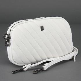 Сумка женская искусственная кожа DJ-СМ 5068-WHITE,  2отд,  ручка-петля,  плечевой ремень,  белый 217550