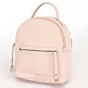 """Сумка женская искусственная кожа M.Bag-""""  Вита""""      (рюкзак)    ;    1отд,    1внут+1внеш карм,    розовый"""
