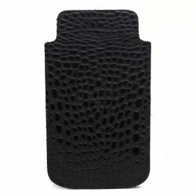 Футляр для мобильного телефона F-4,    черный кайман   (126)