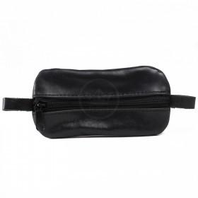 Футляр для ключей-FNX-КЛВ-104 натуральная кожа черный крек (4062)  218767