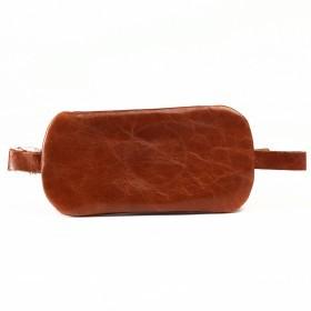 Футляр для ключей-FNX-КЛВ-104 натуральная кожа рыжий пулл-ап воск (4210)  218768