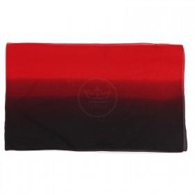 Шарф 50*160см шифон 100%,    плетение шифон,    черный/красный