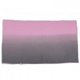 Шарф 50*160см шифон 100%,    плетение шифон,    розовый/серый