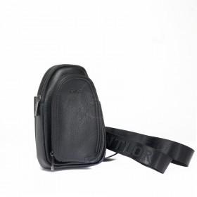 Cумка муж Cantlor-G 602S-5, 1отд,  2внеш карм, плечевой ремень,  черный  219405