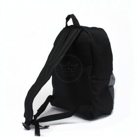 Рюкзак Rise-м-259   (1-3-2) ,    молодежный,    уплотн.спинка,    1отд,    1внеш карм,    черный/серый