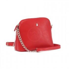 Сумка женская искусственная кожа DJ-CM 5077-RED, 1отд 1внеш, +2внут, карм,  плечевой ремень,  красный 220558