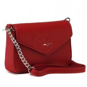 Сумка женская искусственная кожа DJ-CM 5088-RED,  1отд, 1внеш, +2внут.карм,  плечевой ремень, красный 220577
