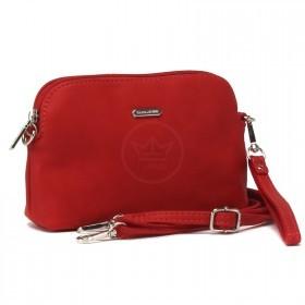 Сумка женская искусственная кожа DJ-CM 5094-RED,  1отд.2внут, карм,, плечевой ремень, красный 220811